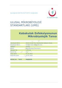 Kabakulak - Türkiye Halk Sağlığı Kurumu