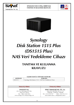 Synology Disk Station 1515 Plus (DS1515 Plus) NAS Veri