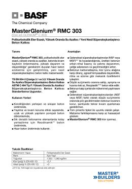 MasterGlenium® RMC 303