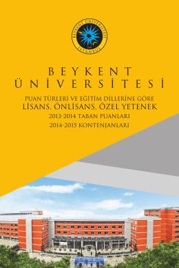 Devamı - Beykent Üniversitesi