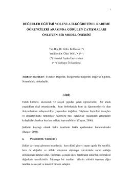 View/Open - İstanbul Aydın Üniversitesi