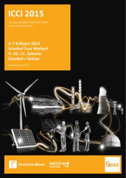 ICCI 2015 Broşür