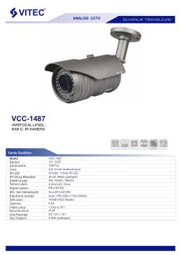 VCC-1487 - Bilgi Elektronik