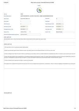 Page 1 11/20/2014 https://yoksis.yok.gov.tr/ilansayfa/?sessionid