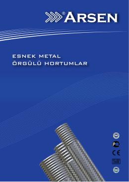 Esnek Metal Örgülü Hortumlar - Arsenflex