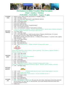 2015_Antalya_Final_Programı