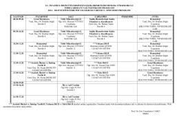 Tıbbi Laboratuar Teknikleri Programı