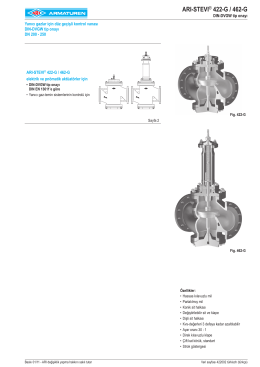 ARI-STEVI® 422-G / 462-G