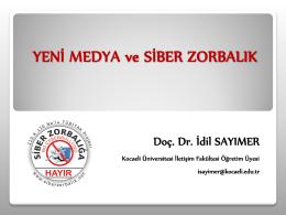 PDF Dosya - Siber Zorbalık