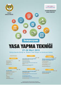 türkiye barolar birliği özyeğin üniversitesi hukuk fakültesi