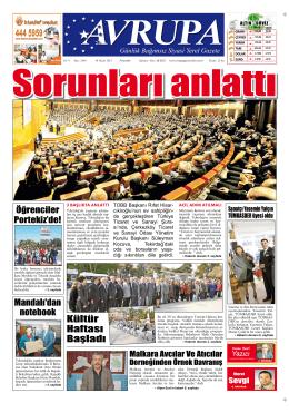 damları, - Avrupa Gazetesi