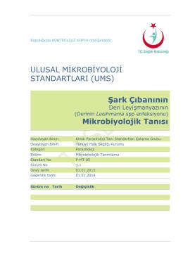 Şark çıbanı - Türkiye Halk Sağlığı Kurumu