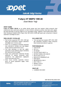 Fullpro HT MSPS 15W-40