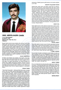 2892 ABDULKAD|R CAN|K