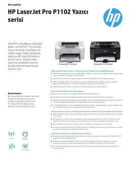 HP LaserJet Pro P1102 Yazıcı serisi