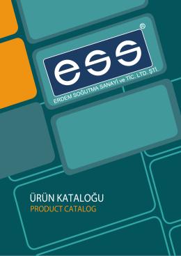 katalog / catalog - ERDEM SOĞUTMA SANAYİ