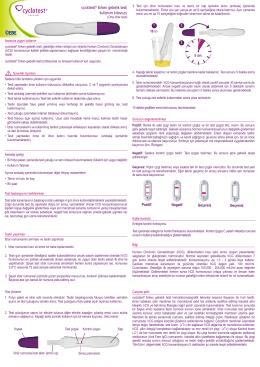 cyclotest® Erken gebelik testi kullanım kılavuzu