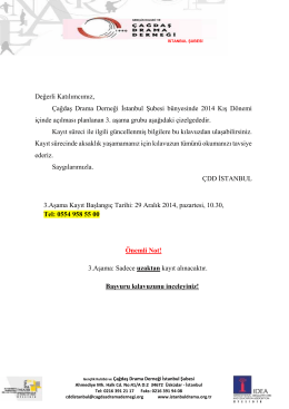 3. asama basvuru_kilavuzu_2014 güz hızl. 3. asama