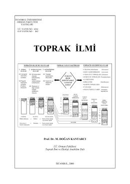 1.Bölüm giriş - Prof. Dr. M. Doğan Kantarcı Web sitesi