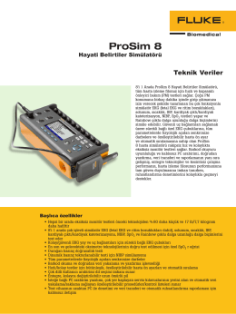 Prosim8 Data Sheet