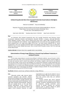 (PDF)... - DergiPark