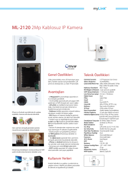 ML-2120 2Mp Kablosuz IP Kamera