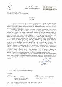 riskli gebelikler yönetim rehberi 2014/10