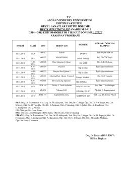 MÜZİK RESİM VİZE 2014_2015 GÜZ arasınav programı(1)