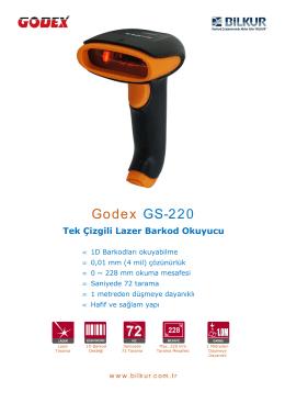 Godex GS-220 Teknik Özellikler