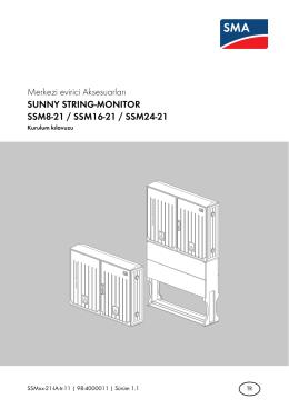 PDF - Sunny String Monitör Kurulum Klavuzu