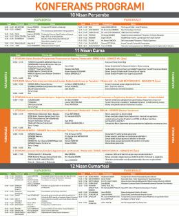 solarex konferans programiTR