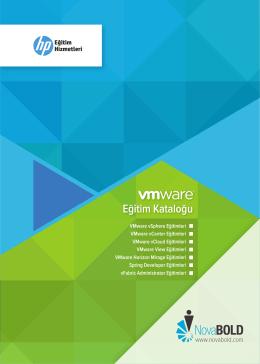 VMware vSphere - NovaBOLD Bilgi Teknolojileri Danışmanlık ve