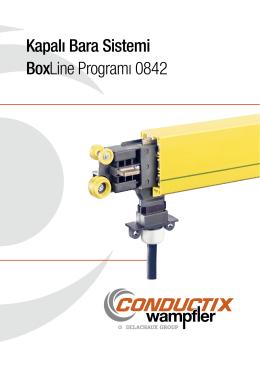 Kapalı Bara Sistemi BoxLine Programı 0842 - Conductix