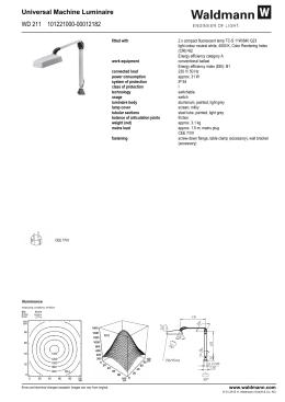 Universal Machine Luminaire WD 211 101221000