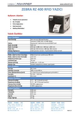Zebra Yazıcı RZ-400