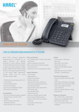 IP121 IP Telefon Broşürü