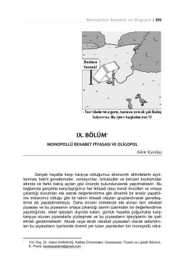 ıx. bölüm - Kafkas Üniversitesi
