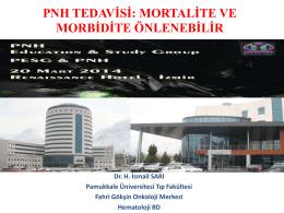 PNH Tedavisi - İsmail Sarı