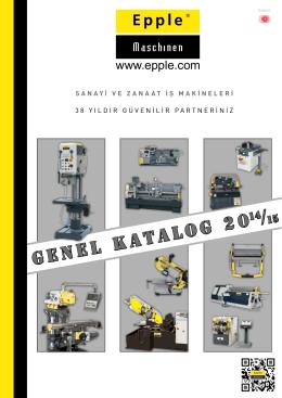 Genel Katalog 20 - Epple Maschinen GmbH