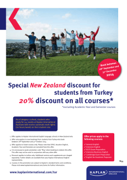20% discount on all courses*