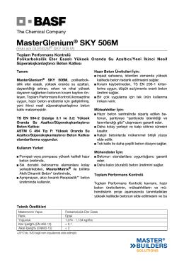 MasterGlenium® SKY 506M