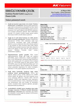 Ak Yatırım Ereğli Demir Çelik Şirket Raporu