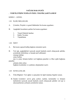 Veri İletişim Tesisatı Özel Tş.