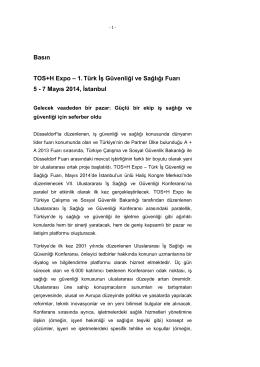Basın bültenleri 27/02/2014