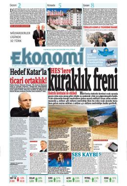 27 şubat 2014 - Ekonomi Gazetesi