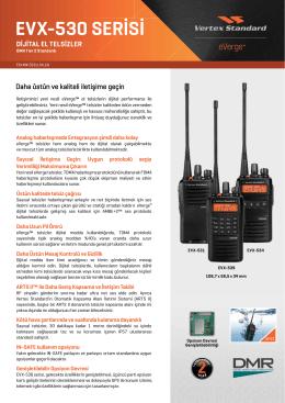 EVX-530 SERİSİ - Vertex Standard