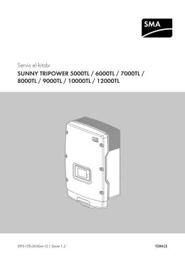 Servis el kitabı - SMA Solar Technology AG
