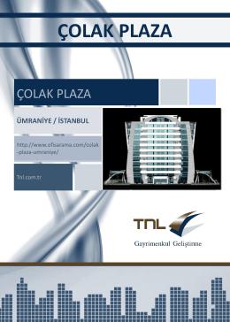 ümraniye / istanbul çolak plaza