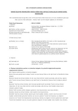 SN-4 STANDARTLARINDA KORUGE BORU ORMAN İŞLETME