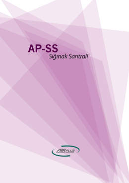 AP-SS Sığınak Santrali